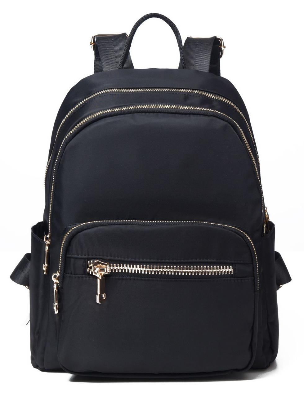 Рюкзак женский черный нейлоновый Vintage 14805