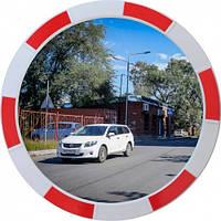 Дорожное зеркало обзора 60 см сферическое наружное