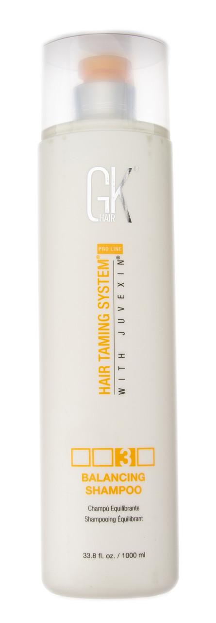 GKhair Global Keratin Balancing Shampoo - Балансирующий шампунь Глобал Кератин 1000 мл