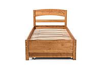 Кровать TQ Project ТИАНА  Ольха с ящиком для белья, масло-воск