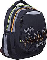 Рюкзак (ранец) школьный 1 Вересня Yes 552620 Pulse T-22 40*34*24см