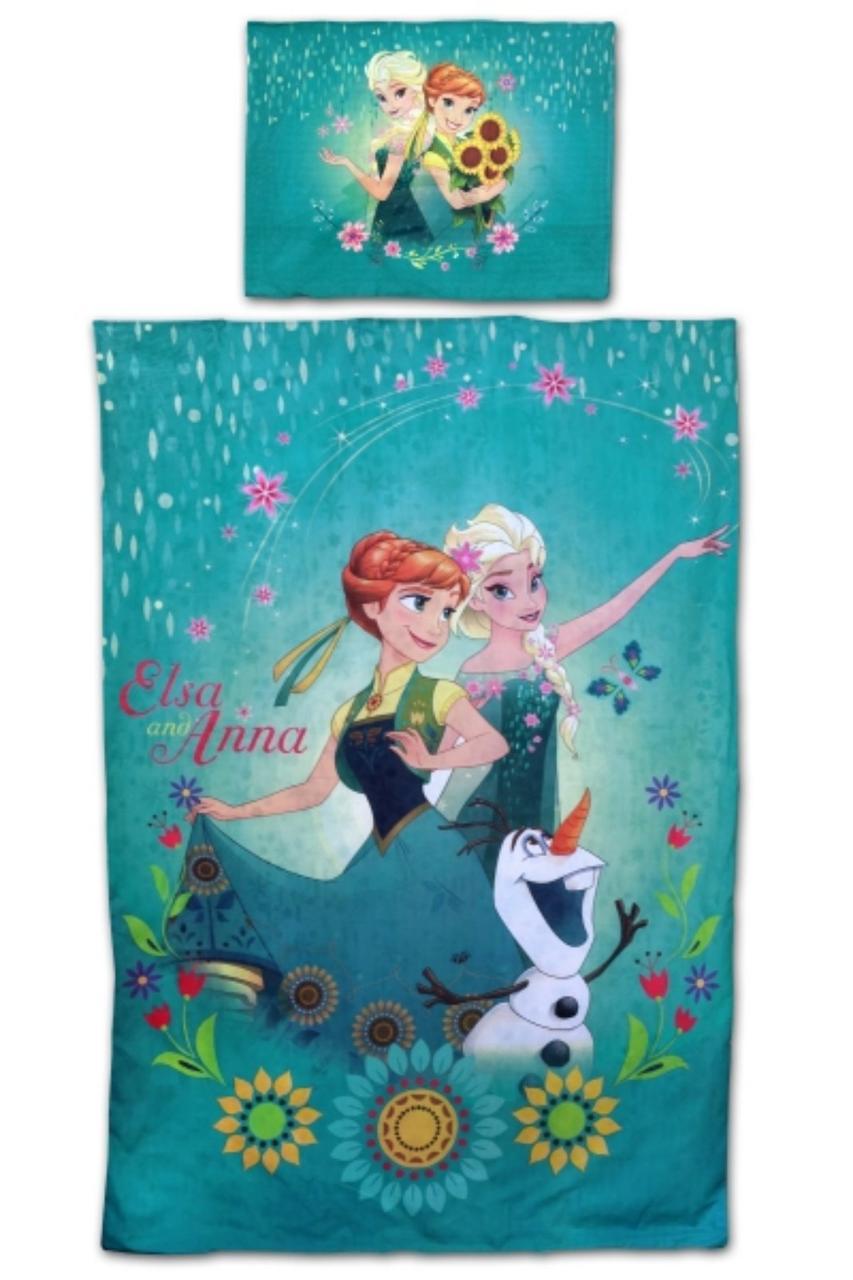 Постільна білизна для дівчаток оптом, Disney, 140*200 см, 70*90 см. арт 710-216
