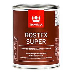 Быстросохнущий противокоррозионный грунт Tikkurila Rostex Super