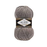 Полушерстяная пряжа (49%-шерсть,51%-акрил,100г/240м) Alize Lanagold 650(бежевый меланж)