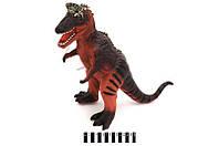 """Динозавр """"T-REX"""" музыкальный в п/э 50*40*19см. /18/(33067-11)"""