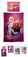 Постільна білизна для дівчаток оптом, Disney, 140*200 см, 70*90 см. арт 710-149