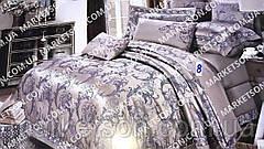 Атласное постельное белье. Евро размер. Подарочная упаковка., фото 2