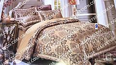 Атласное постельное белье. Евро размер. Подарочная упаковка., фото 3