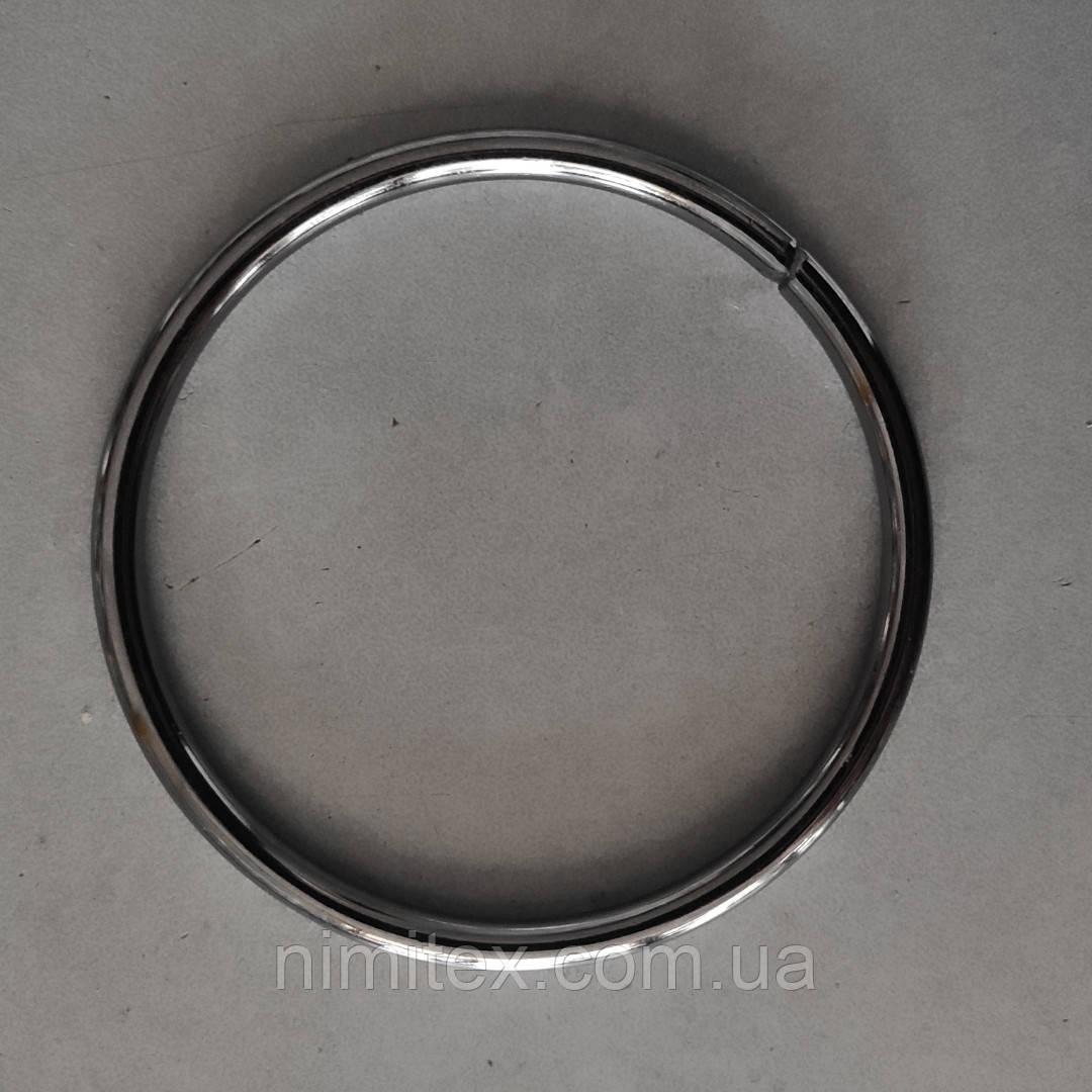 Кольцо литое сварное 68 мм черный никель