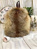 Женский рюкзак из натурального меха лисы, фото 1