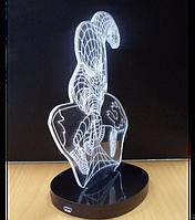 Светильник 3D  1112 (Человек Паук)