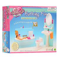 Мебель игрушечная ванная для кукол 2820