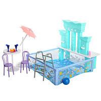 Мебель игрушечная Бассейн для кукол 2878