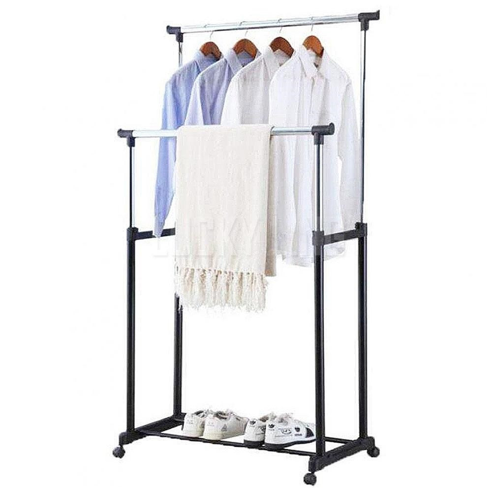 Стійка вішалка Tina Double-Pole Clothes-horse підлогова для одягу
