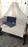 Постельный набор в детскую кроватку, фото 4