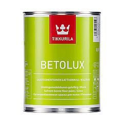 Уретано-алкидная краска для полов Tikkurila Betolux (все фасовки)