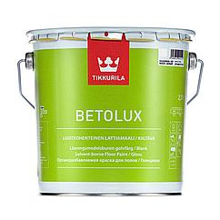 Фарба для підлоги Tikkurila Betolux глянцева біла 2.7 л