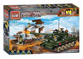 Конструктор Brick 1711 Атака танка. Зона боевых действий