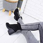 Зимние женские ботинки черного цвета, натуральная замша 37 ПОСЛЕДНИЕ РАЗМЕРЫ, фото 6