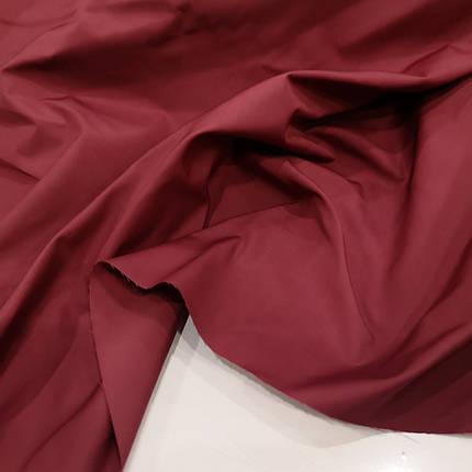 Плащова тканина канада бордова, фото 2