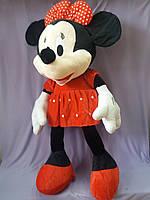 Мягкая игрушка Дисней Минни Маус красная , 110 см