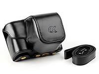 Защитный футляр - чехол для фотоаппаратов SONY A6000, A6300, A6500 - черный