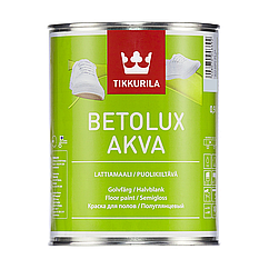 Полиуретано-акрилатная краска Tikkurila Betolux Aqua