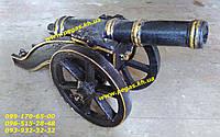 Пушка сувенирная чугунная (чугунное литье)