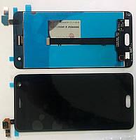 Дисплей модуль для ZTE Blade V8 в зборі з тачскріном, чорний