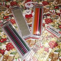 Набір №17 Клейові стрижні d 7.4 mm L 200 mm - 4 упаковки Intertool, фото 1