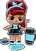 Кукла LOL Surprise 5 Серия Hairgoals PINS - Лол Сюрприз Оригинал, фото 3