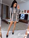 Платье футляр с блестящими вставками из сетки с люрексом 66plt662E, фото 4