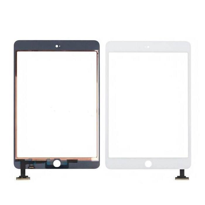 Сенсорный экран (тачскрин) планшет iPad Mini, iPad Mini 2, белый ориг. к-во