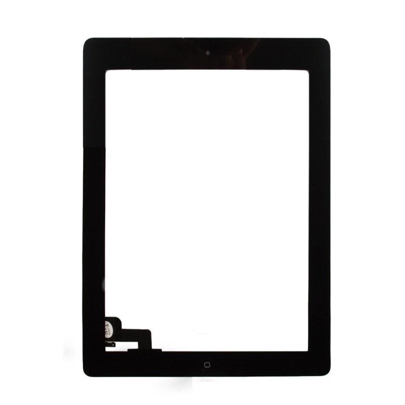 Сенсорный экран (тачскрин) планшет iPad 2 с кнопкой Home, чёрный