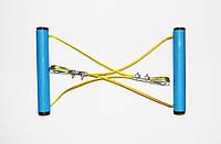 Эспандер металлический универсальный + 2 подарка для фитнеса и спорта (Металлическая конструкция)