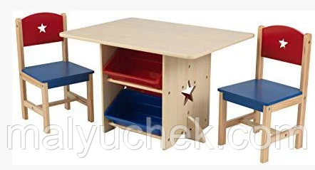 Детская мебель стол и стулья Kidkraft 26912