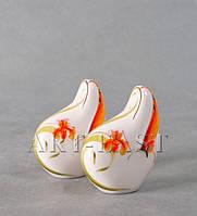 Набор для специй соль-перец Орхидеи фарфор