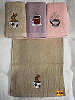 Полотенце кухонное махровое размер 35*70 см