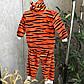 """Теплий дитячий комплект """"Мій тигр"""" 68-86 см ( кофточка, штанці)., фото 4"""