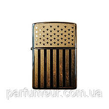 Запальничка Zippo Made in USA Flag with