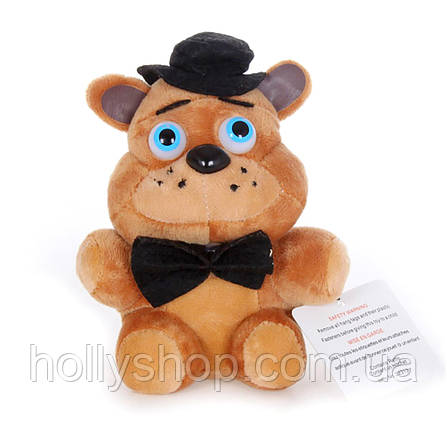 Мягкая игрушка Пять ночей с Фредди, FNaF - Фредди Freddy 15см, фото 2
