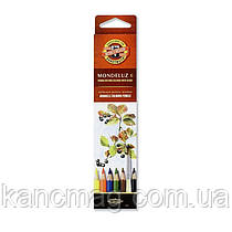 Карандаши акварельные 6 цветов K-i-N Mondeluz 3715