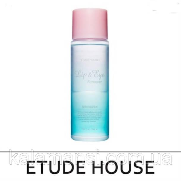 Двофазний засіб для демакіяжу очей та губ Etude House Lip Eye Remover 100 мл