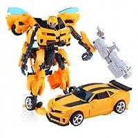 Трансформер Бамблби Праймбот, 17 см, роботы, фото 1