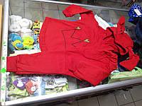 Детский теплый спортивный костюм для девочки р.86-122