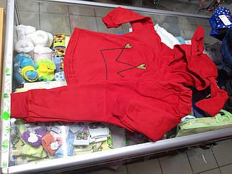костюм спортивный теплый для девочки р.86-122
