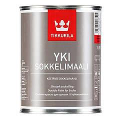 Щелочестойкая акрилатная краска Tikkurila YKI Sokkelimaali ( все фасовки )