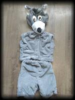 Новогодний детский  костюм Волк 3-5 лет