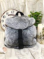 Рюкзак - сумка меховые из натурального меха