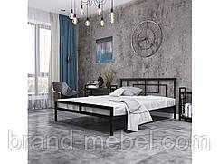 Ліжко металеве Квадро в стилі Лофт Loft / Кровать металлическая  Квадро в стиле Лофт Loft
